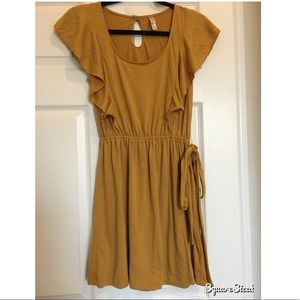 Mustard Yellow Xhiliration Dress Size Small 💛
